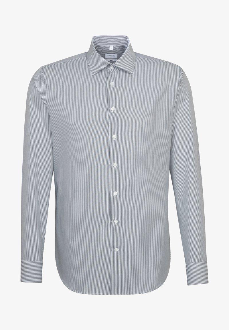 Seidensticker - SLIM FIT - Shirt - dark blue