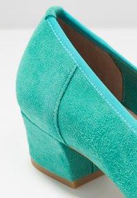 PERLATO - Classic heels - turquoise - 2
