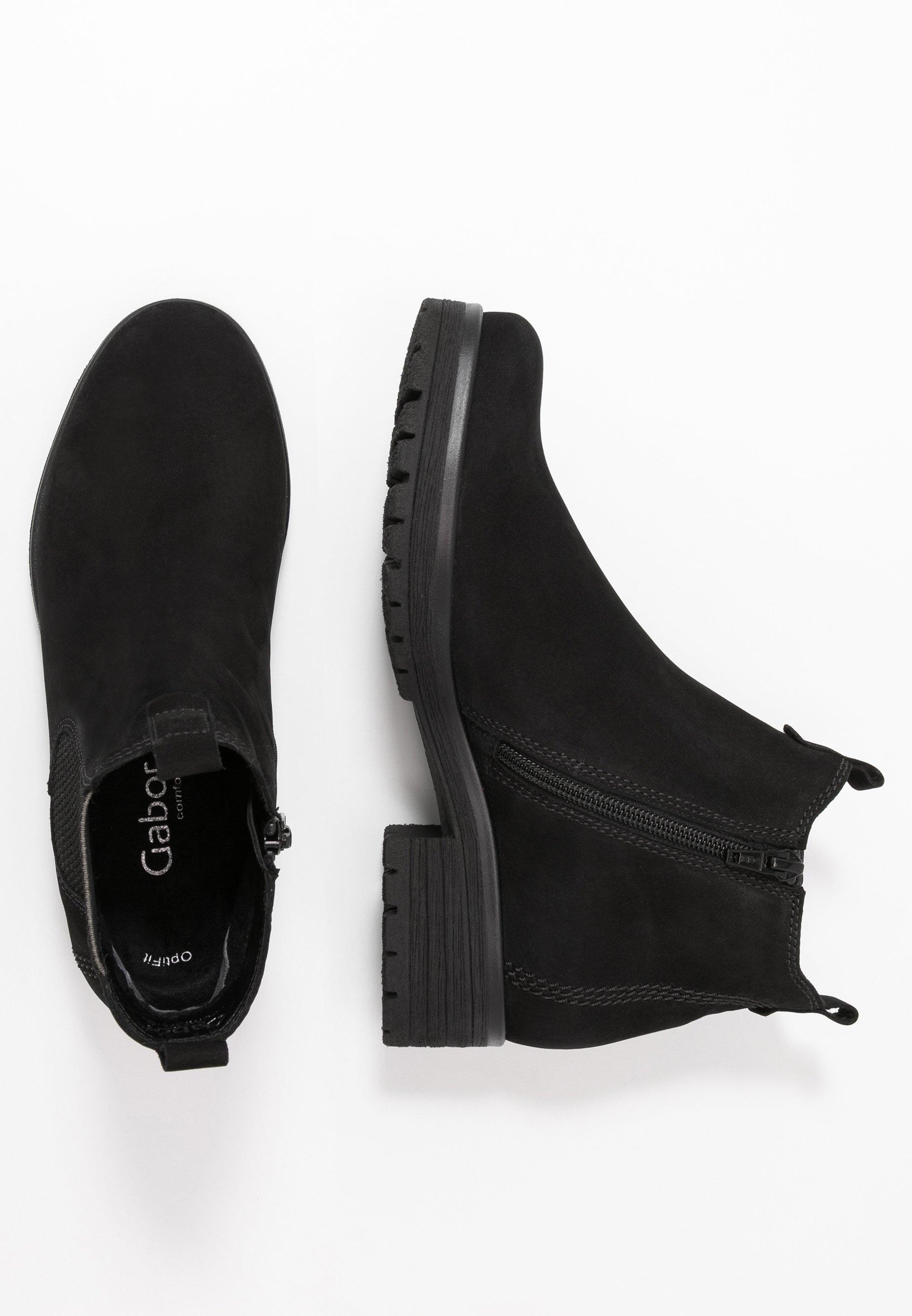 Gabor Comfort Ankle Boot - Schwarz