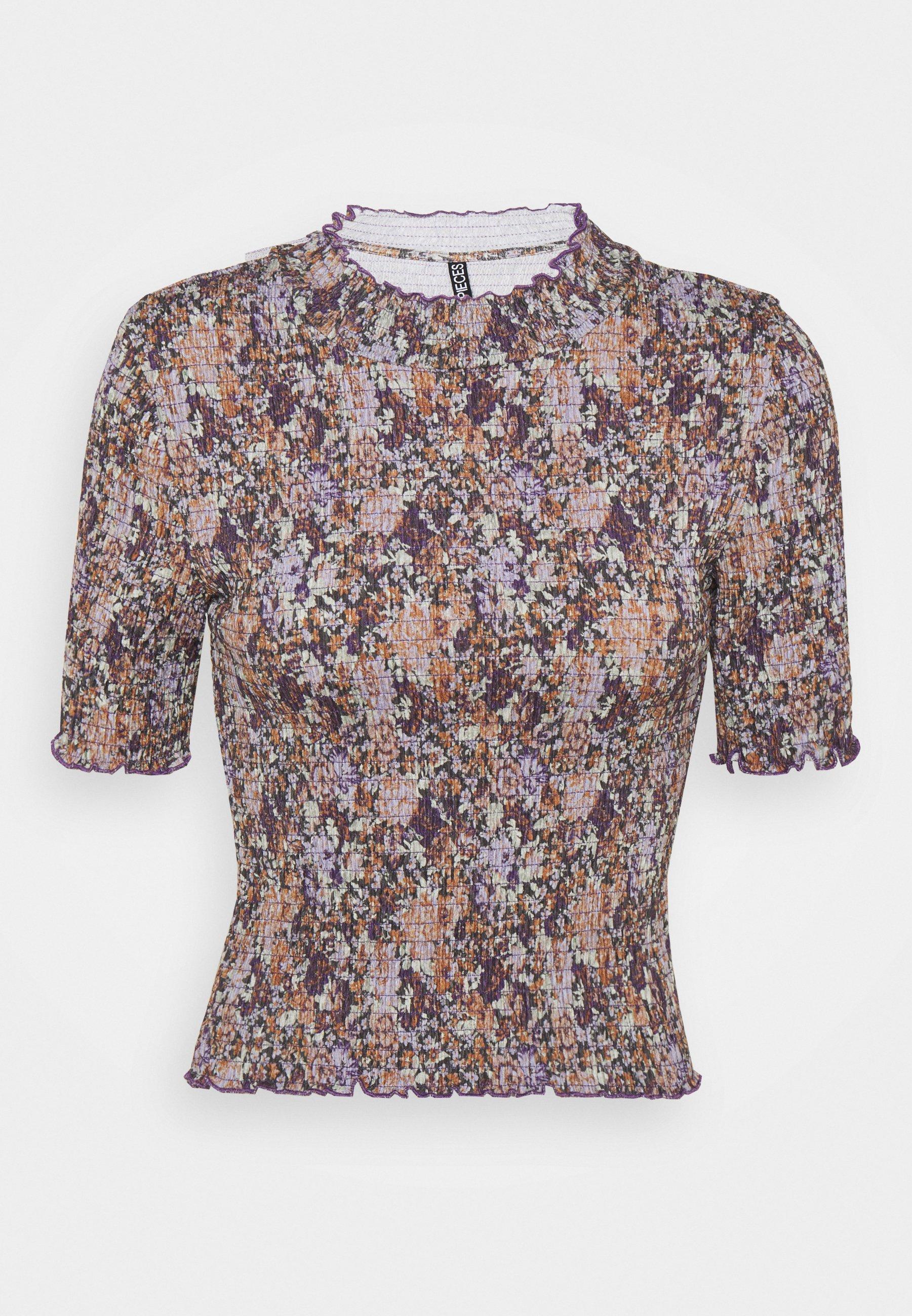 Women PCLEASTE SMOCK - Print T-shirt