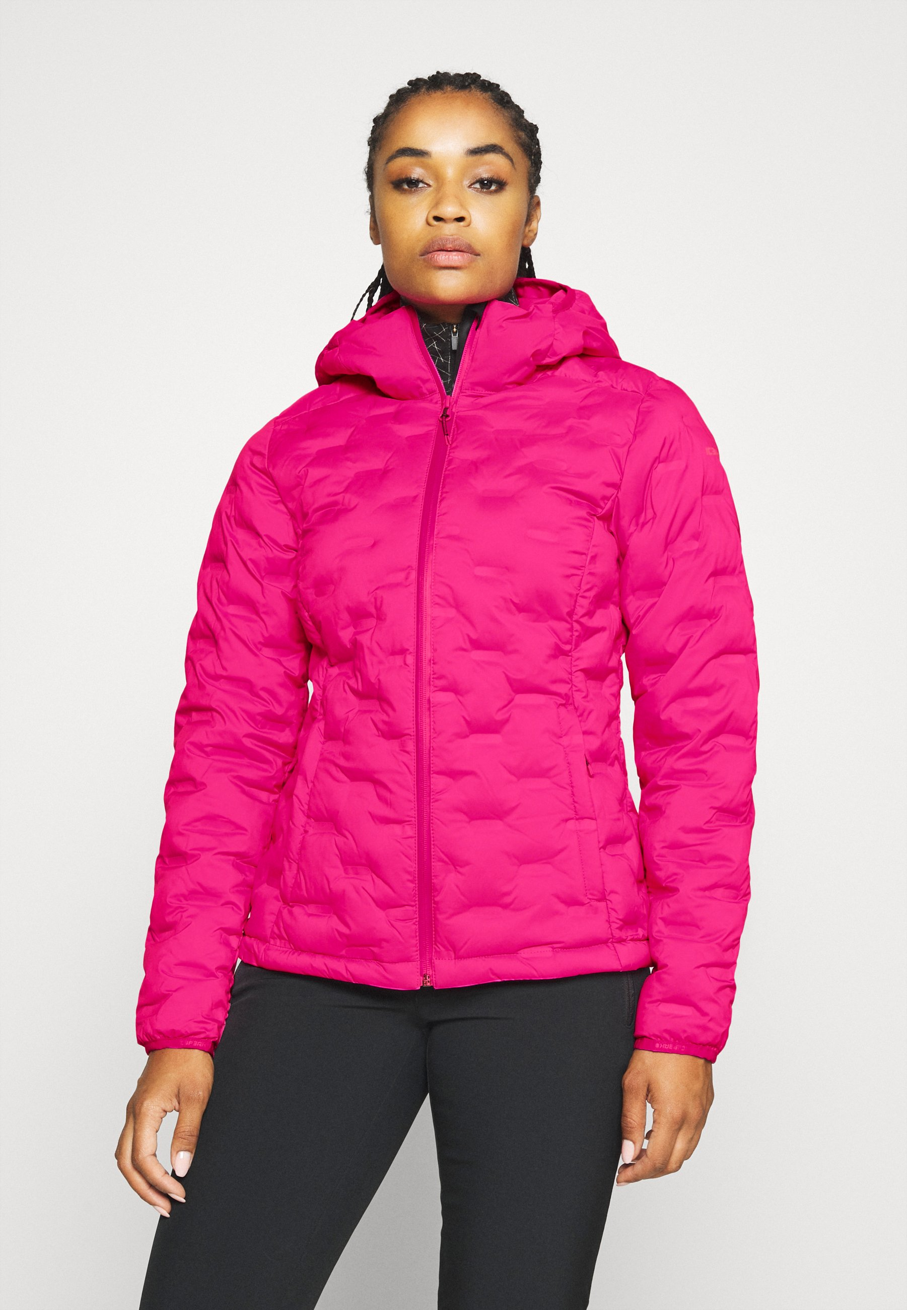 Cheapest Women's Clothing Icepeak DADEVILLE Down jacket hot pink bLB3R0489