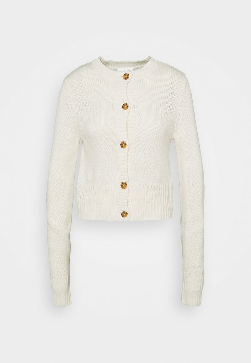 Monki - PAMELA CARDIGAN - Cardigan - off white