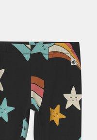 Lindex - MINI SHOOTING STARS - Leggings - Trousers - off black - 2