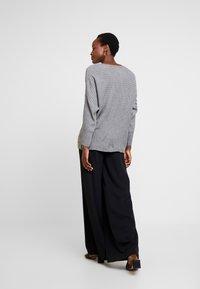 Anna Field - Stickad tröja - mid grey melange - 2