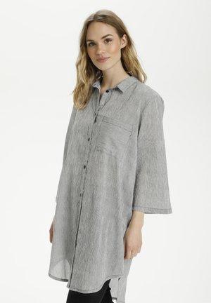 KAVIVIAN  - Robe chemise - black    chalk stripe