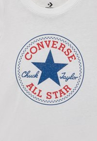 Converse - CHUCK PATCH  - T-shirt con stampa - white - 2
