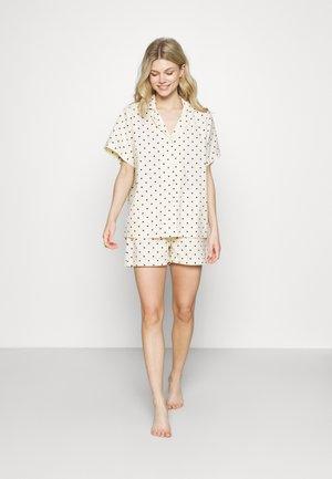 DOT KALLIE NIGHTWEAR - Pyjamas - whitecap gray