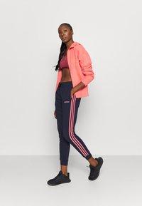 adidas Performance - Zip-up hoodie - coral - 1