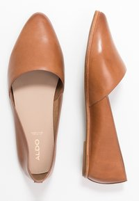 ALDO Wide Fit - BLANCHETTE - Slip-ons - medium brown - 3