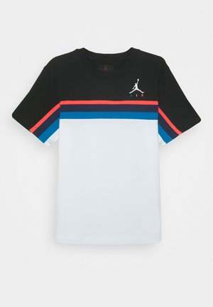 JUMPMAN SIDELINE TEE - T-shirt con stampa - white