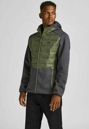 JCOTOBY HYBRID JACKET - Training jacket - gunmetal, mottled black
