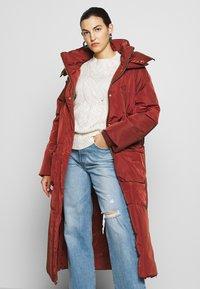 DAY Birger et Mikkelsen - NEW JUSTINE - Classic coat - fired brick - 5