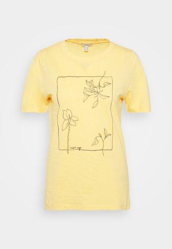 HIGH - Print T-shirt - sunflower yellow
