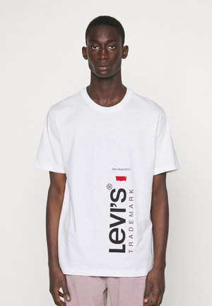 RELAXED FIT TEE BABYTAB - T-shirt imprimé -  white