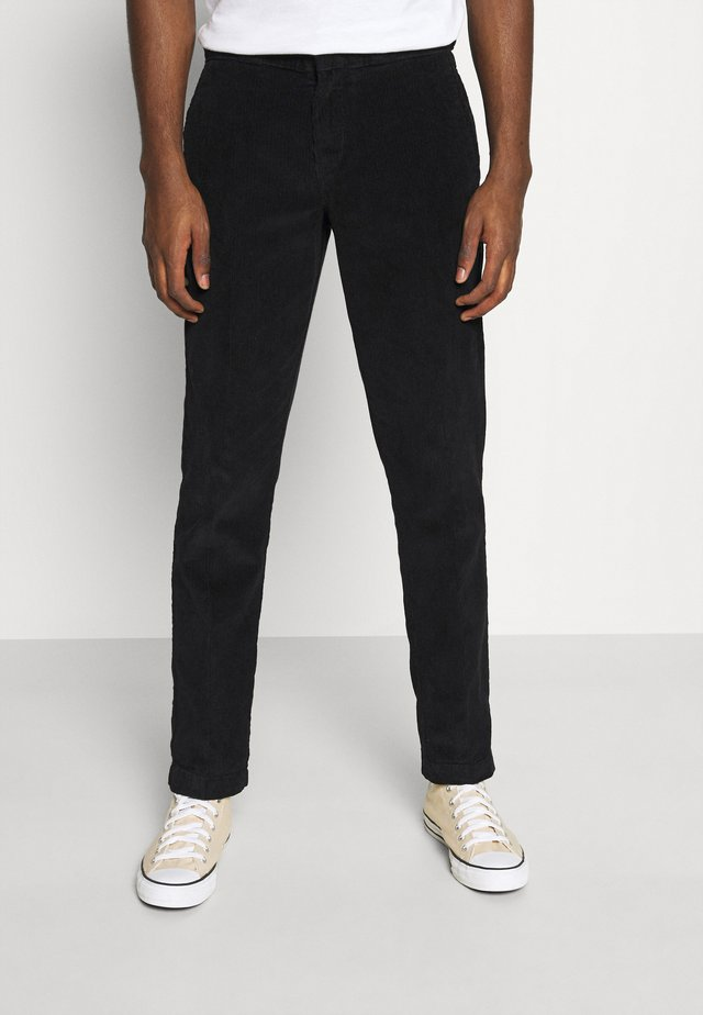 FORT POLK - Pantaloni - black