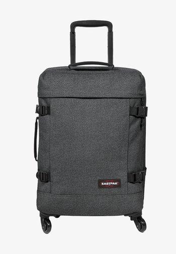 TRANS4 S - Wheeled suitcase - black denim