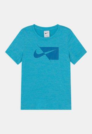 Camiseta estampada - chlorine blue/imperial blue