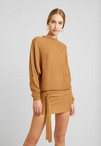 TWINTIP - Jumper dress - light brown - 0