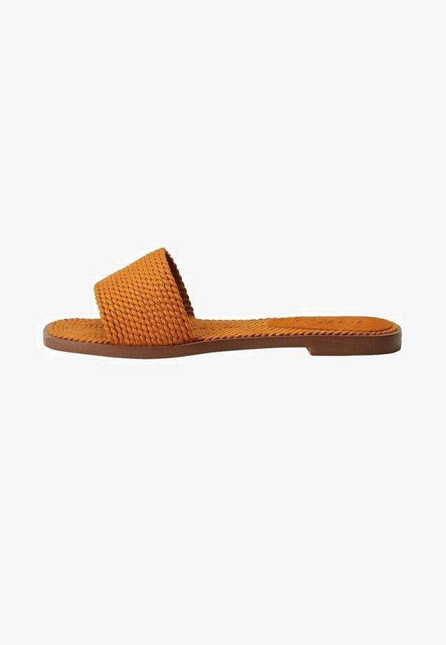 SOFIA - Mules - orange