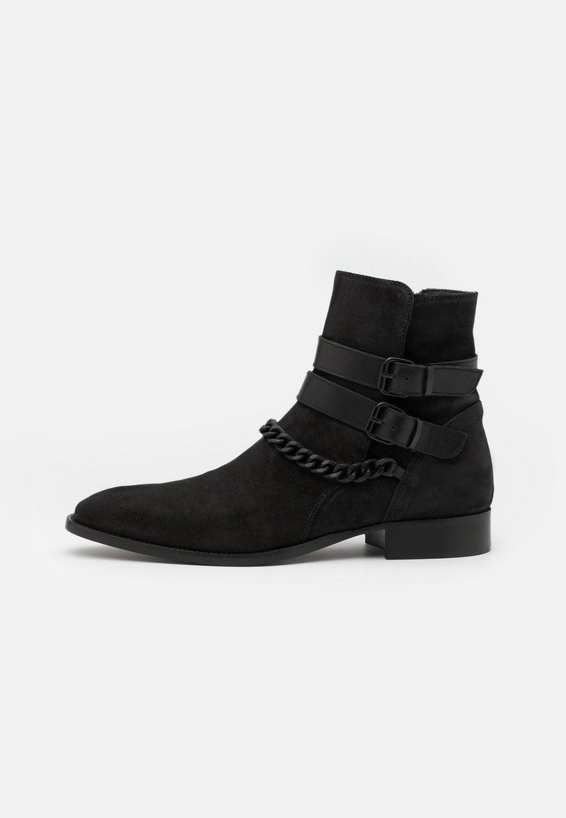 ALDO - EOLOPHUS - Classic ankle boots - open black