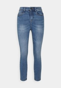 Noisy May Petite - NMAGNES SUPER SKINNY - Jeans Skinny Fit - light blue denim - 0