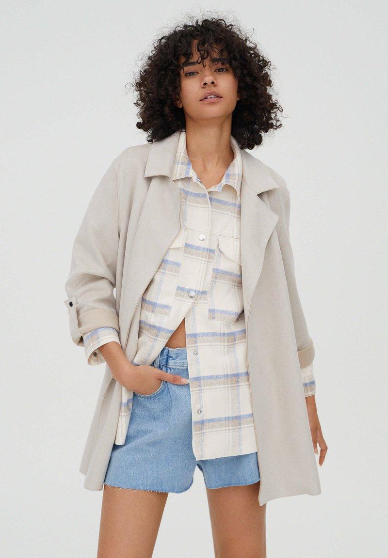 PULL&BEAR - Short coat - grey