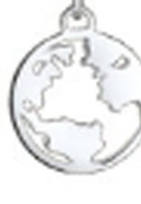 Elli - Weltkugel Globus - Halsband - silver-coloured - 4