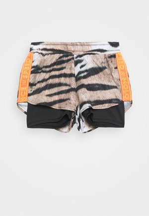 OMARI - Sports shorts - beige