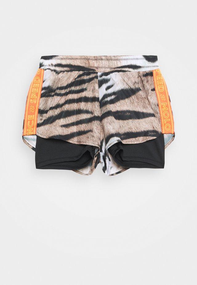 OMARI - Pantaloncini sportivi - beige