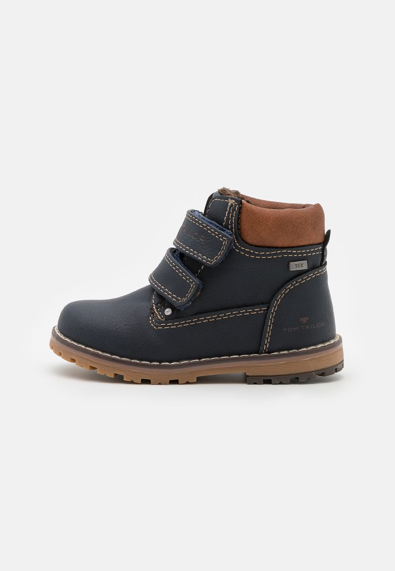 TOM TAILOR - Classic ankle boots - navy
