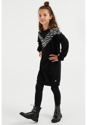 Vestido de punto - black