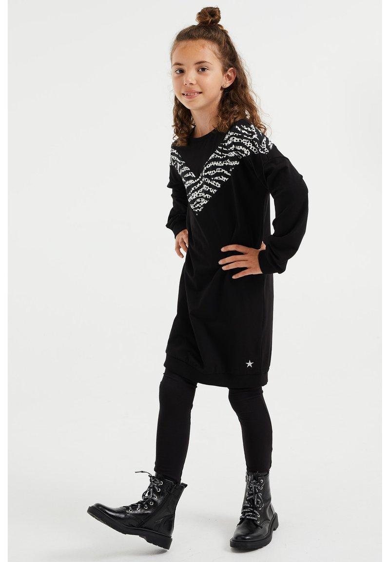 WE Fashion - Jumper dress - black