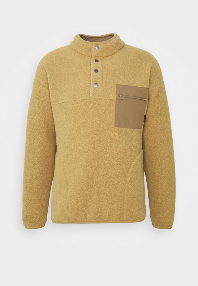 Fleece jumper - beige