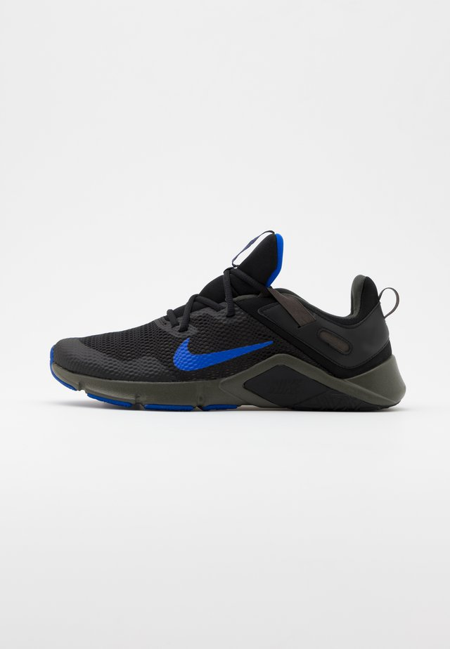 LEGEND ESSENTIAL - Treningssko - black/racer blue/newsprint