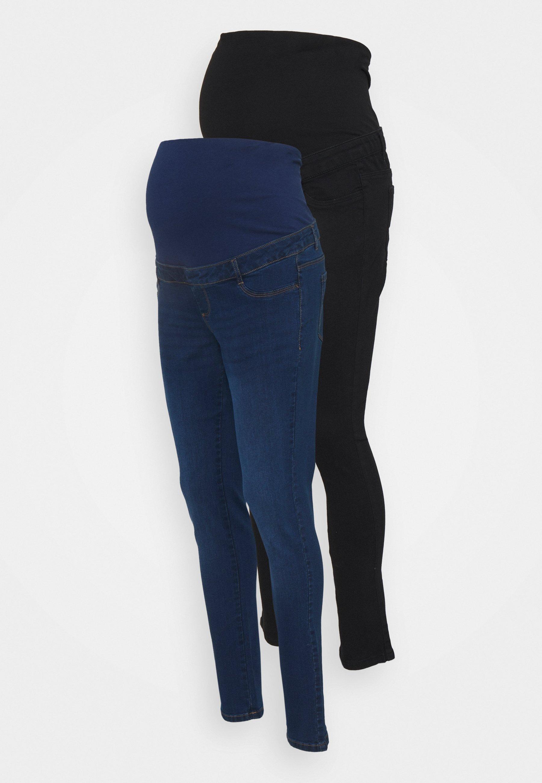 Women OVER BUMP ELLIS SKINNY 2 PACK - Jeans Skinny Fit