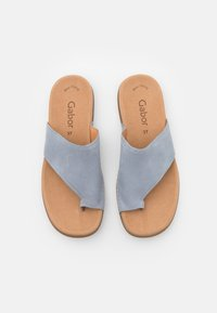Gabor - Sandalias de dedo - aquamarin - 5