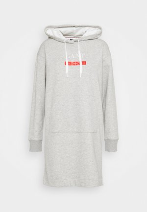 NAUTICAL HOODIE DRESS - Robe d'été - light grey melange
