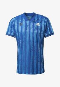 adidas Performance - Print T-shirt - blue - 7