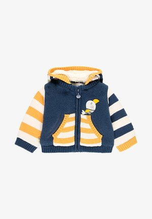 Sweater met rits - indigo