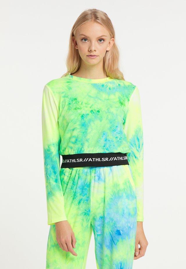 Pitkähihainen paita - neon grün
