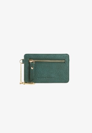 Business card holder - green