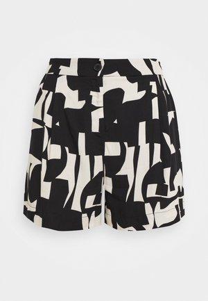 Shorts - cutout print