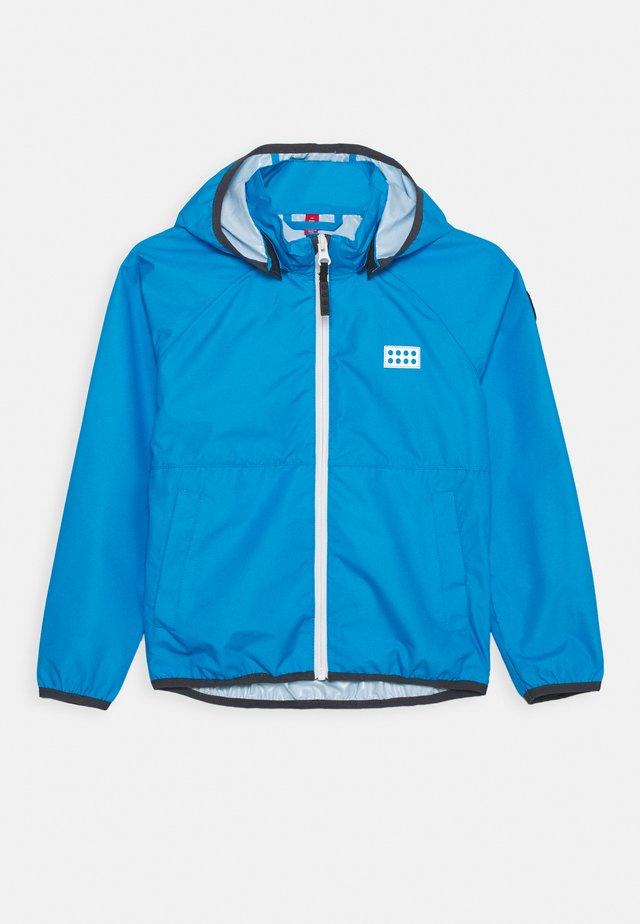 JORI 201 JACKET UNISEX - Waterproof jacket - light blue