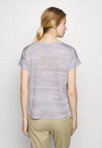Icebreaker - VIA SCOOP - T-shirts med print - mercury heather - 2