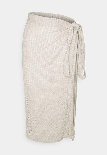 SUMMER DAYS SKIRT - Wrap skirt - beige