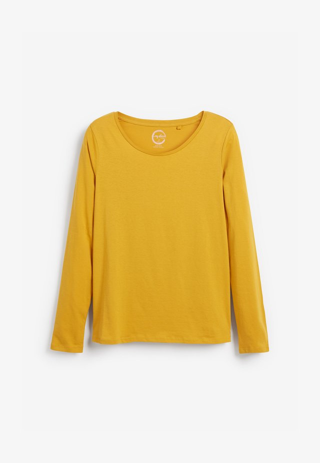 Long sleeved top - yellow