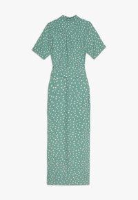 King Louie - ROSIE MIDI DRESS DOMINO DOT - Shirt dress - spar green - 1