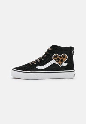 SK8 ZIP - Sneakers hoog - black