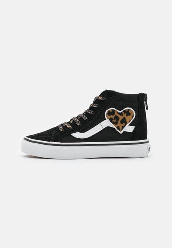 SK8 ZIP - Höga sneakers - black