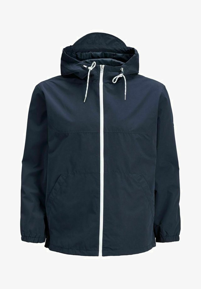 LÄSSIGE - Outdoor jacket - navy blazer